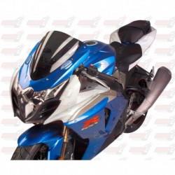 Bulle double courbures HotBodies Racing fumée pour Suzuki GSX-R1000 (2009-2016)