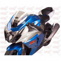 Bulle double courbures HotBodies Racing transparente pour Suzuki GSX-R1000 (2009-2016)