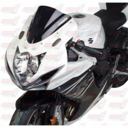 Bulle double courbures HotBodies Racing noire opaque pour Suzuki GSX-R 600/750 (2011-2018)
