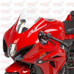 Bulle haute HotBodies Racing transparente pour Suzuki GSX-R1000 (2017)