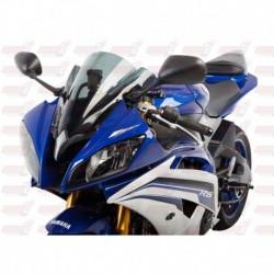 Bulle double courbures HotBodies Racing fumée pour Yamaha YZF-R6 (2008-2016)