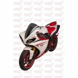 Bulle double courbures HotBodies Racing fumée pour Yamaha YZF-R1 (2009-2014)