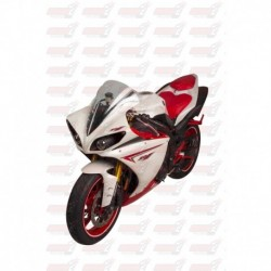 Bulle double courbures HotBodies Racing transparente pour Yamaha YZF-R1 (2009-2014)