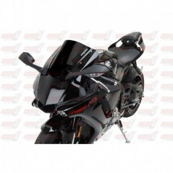 Bulle double courbures HotBodies Racing noire opaque pour Yamaha YZF-R1/M (2015-2017)