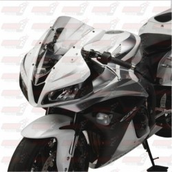 Bulle double courbures HotBodies Racing transparente pour Honda CBR600RR (2007-2012)