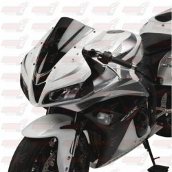 Bulle double courbures HotBodies Racing fumée pour Honda CBR600RR (2007-2012)