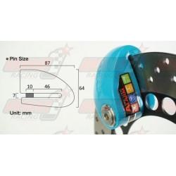 Bloque disque alarme Xena XX10 avec goupille de 10 mm