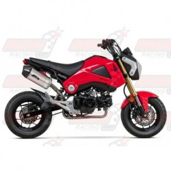 Ligne complète inox racing Yoshimura Race RS-9 FS SS-AL-CF silencieux finition Carbone/Inox pour Honda GROM (2014-2015)