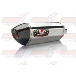 Ligne complète inox racing Yoshimura Race R-77 FS SS-SS-CF silencieux finition Carbone/Inox pour Honda CBR300R/F (2015-2016)