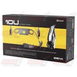 Système de communication Bluetooth SENA 10U pour casque Shoei J-Cruise