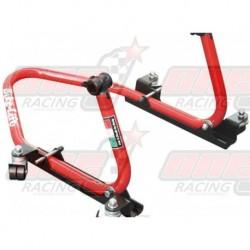 "Béquille arrière Bike Lift Easy Mover 360 avec supports en ""V"""