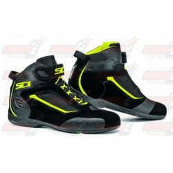Chaussures femme Sidi Gas  noire / jaune fluo