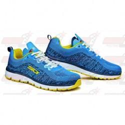 Chaussures Sidi Gossip bleu / jaune
