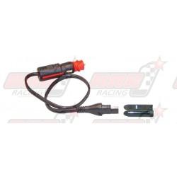 Connecteur TecMate O-2 SAE mâle DIN / allume cigare