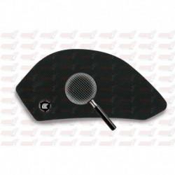 Grip de réservoir Eazi Grip série Pro couleur noire pour Aprilia RS4 125 / Tuono 125 (2011-2018)