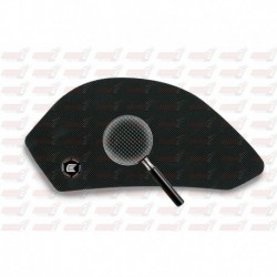 Grip de réservoir Eazi Grip série Pro couleur noire pour Aprilia Tuono (2006-2010)