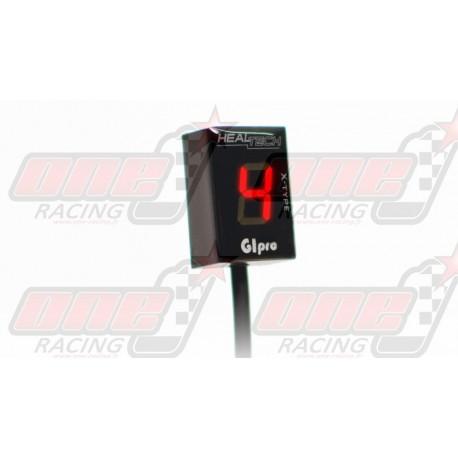 Indicateur de rapport engagé HealTech GIpro X-Type pour Yamaha 2