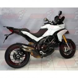 Silencieux Bodis DUOBOLICO [titane] pour Ducati Multistrada 1200/S (2010-2014)