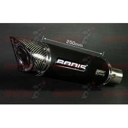 Silencieux Bodis OVAL Q1-S [inox noir] pour Honda CBR600 RR (2013+)