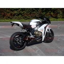 Silencieux Bodis GPX2-UE [inox noir] pour Honda CBR1000 RR FireBlade (2008-2013)