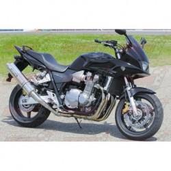 Ligne complète titane Bodis avec silencieux OVAL 1OK pour Honda CB1300 (2003-2007)