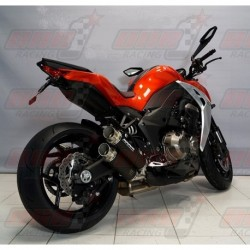Silencieux Bodis GPX2-S [inox noir] pour Kawasaki Z1000 / Z1000R (2014-2016)