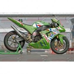 Ligne complète Bodis GP1 Racing [inox/full titane] pour Kawasaki NINJA ZX-10R (2004-2005)