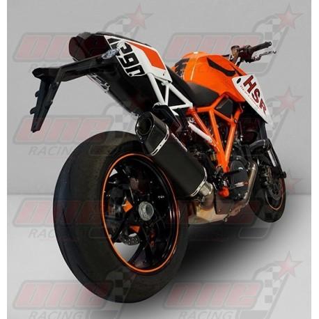 Silencieux Bodis PENTA-TEC [inox noir] pour KTM 1290 SUPER DUKE R (2014-2016)