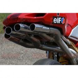 Silencieux Bodis QUATTRO FR Racing [full titane] pour MV Agusta F4 1078 (2004-2009)