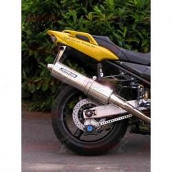 Silencieux Bodis OVAL 1OK G [inox] pour Yamaha Fazer 1000 (2005)
