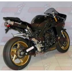 Silencieux Bodis GP1 [inox noir] pour Yamaha YZF R1 (2009-2014)