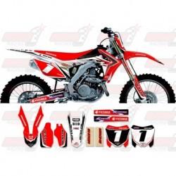 Kit décoration Honda Race Team Graphic Kit - All Japan 13