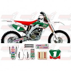 Kit décoration Honda Race Team Graphic Kit - Castrol Honda