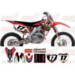 Kit décoration Honda Race Team Graphic Kit - MVRD 12