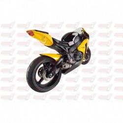 Passage de roue Hotbodies couleur Pearl Shining Yellow (63) avec clignotants leds pour Honda CBR1000RR (2008)