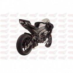 Passage de roue Hotbodies couleur Gloss Black (8) avec clignotants leds pour Kawasaki ZX6R (2009-2012)