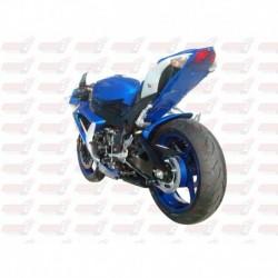 Passage de roue Hotbodies couleur Metallic Triton Blue (82) pour Suzuki GSX-R 600/750 (2009)