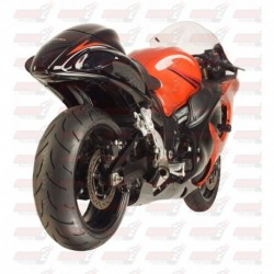 Passage de roue Hotbodies couleur Candy Sonoma Red (70) pour Suzuki Hayabusa (2012)