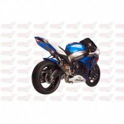 Passage de roue Hotbodies couleur Metallic Triton Blue (82) pour Suzuki GSX-R1000 (2009-2016)