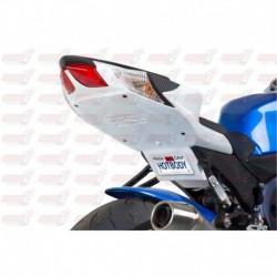 Passage de roue Hotbodies couleur Pearl Mirage White (50) pour Suzuki GSX-R 600 (2011)