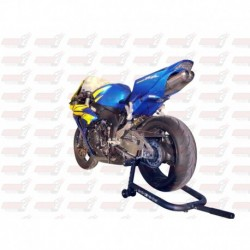 Passage de roue Hotbodies couleur Iron Silver Metallic (56) avec clignotants leds pour Honda CBR1000RR (2006)