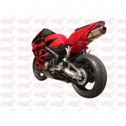 Passage de roue Hotbodies couleur Italian Red (32) avec clignotants leds pour Honda CBR600RR (2005-2006)