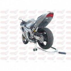 Passage de roue Hotbodies couleur Candy Tahitian Blue (64) avec clignotants leds pour Honda CBRF4i (2006)