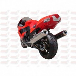 Passage de roue Hotbodies couleur Candy Persimmon Red (20) pour Kawasaki ZX-14 (2008-2010)