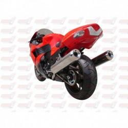 Passage de roue Hotbodies couleur Metallic Titanium (49) pour Kawasaki ZX14R (2010)