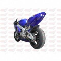 Passage de roue Hotbodies couleur Blue (1) avec feu stop et clignotants leds pour Yamaha YZF-R1 (2000-2001)