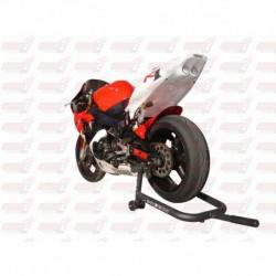 Passage de roue Hotbodies couleur White (27) avec feu stop et clignotants leds pour Yamaha YZF-R1 (1998-1999)