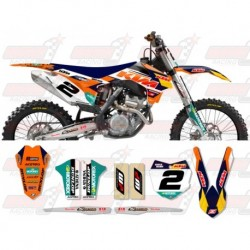 Kit décoration KTM Race Team Graphic Kit - 2014 Factory