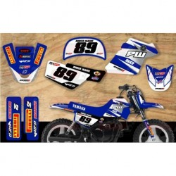 Kit décoration Yamaha PW50 Race Team Graphic Kit - GP Replica
