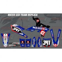 Kit décoration Yamaha Race Team Graphic Kit - Rockwell Nico Izzi